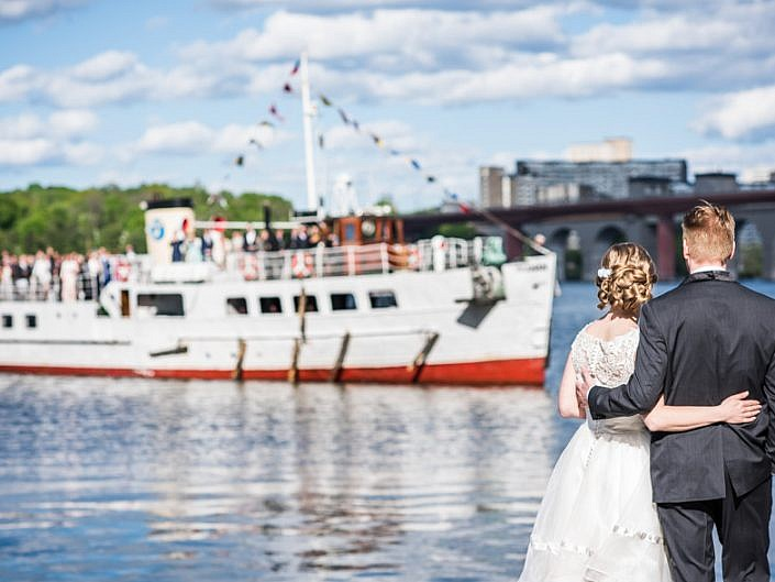 Wedding photos Stockholm - Louise and Jocke