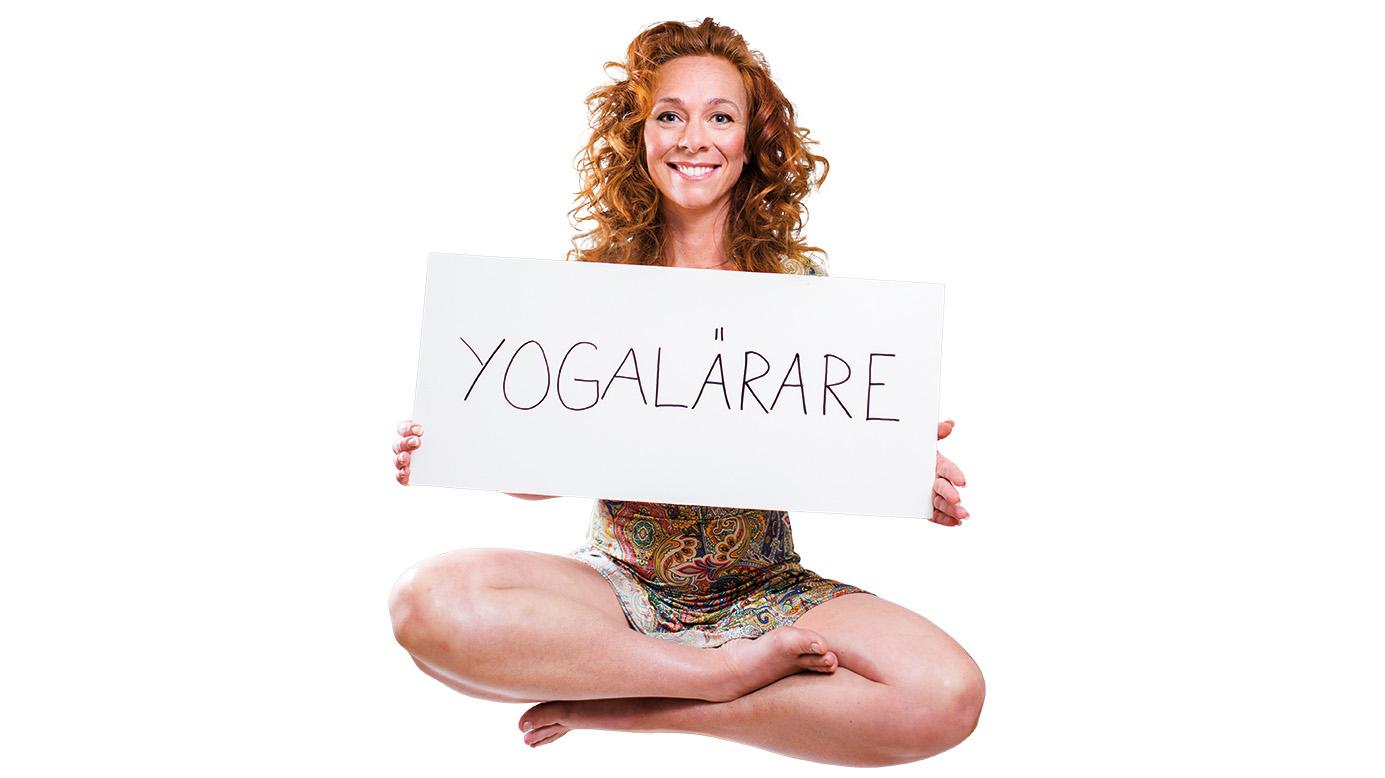 Lisa Ekenberg, yogalärare. Foto: LinneaBengtsson.se