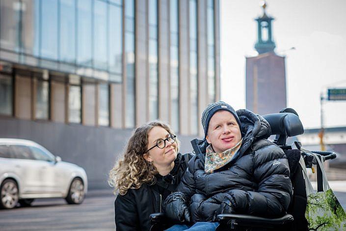 Isak och Emilia, Kära Assistent, JAG. Foto: LinneaBengtsson.se