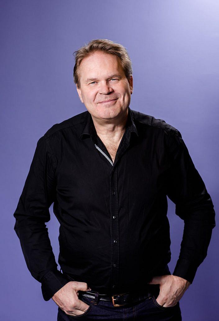 Alf Solander, foto för Skolporten. Foto: LinneaBengtsson.se