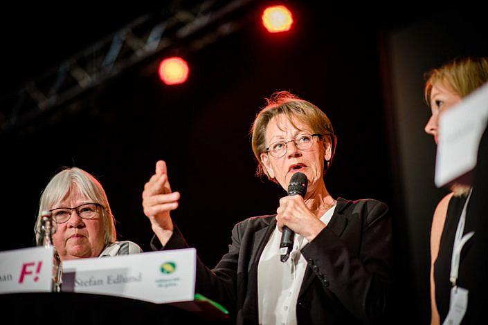 Gudrun Schyman, Anhörigriksdagen 2018. Foto: LinneaBengtsson.se