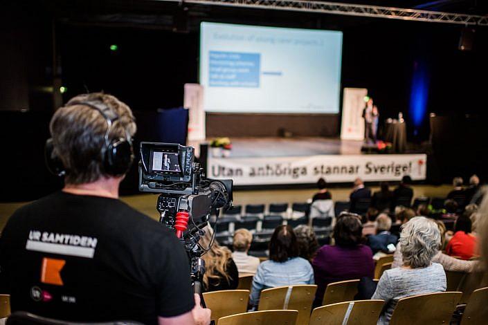 Daniel Phelps, Anhörigriksdagen. Foto: LinneaBengtsson.se