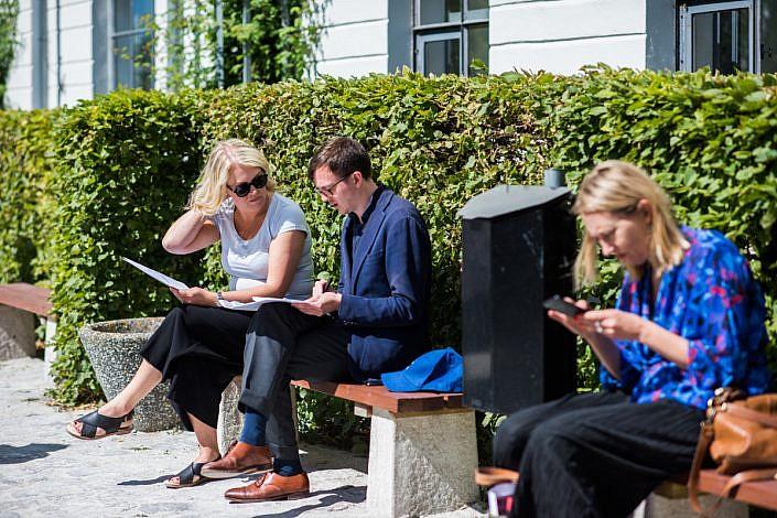 Lena Hallengren, Almedalen. Foto: LinneaBengtsson.se